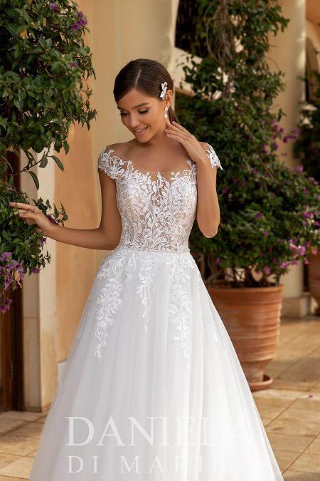 Hochzeitskleider Spitze Tüll