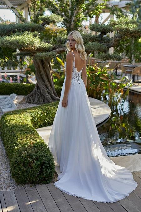 schönes Hochzeitskleid in weiss Standesamt