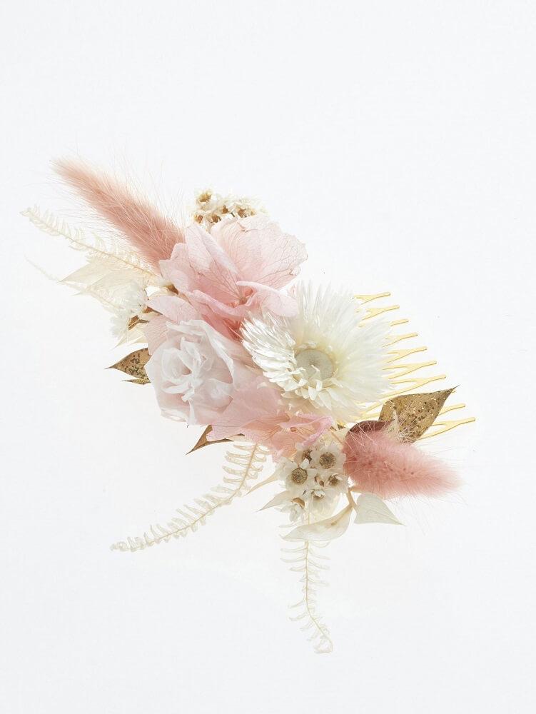 Haarschmuck Blumen, Haarschmuck echte Blumen, Haarschmuck aus Trockenblumen