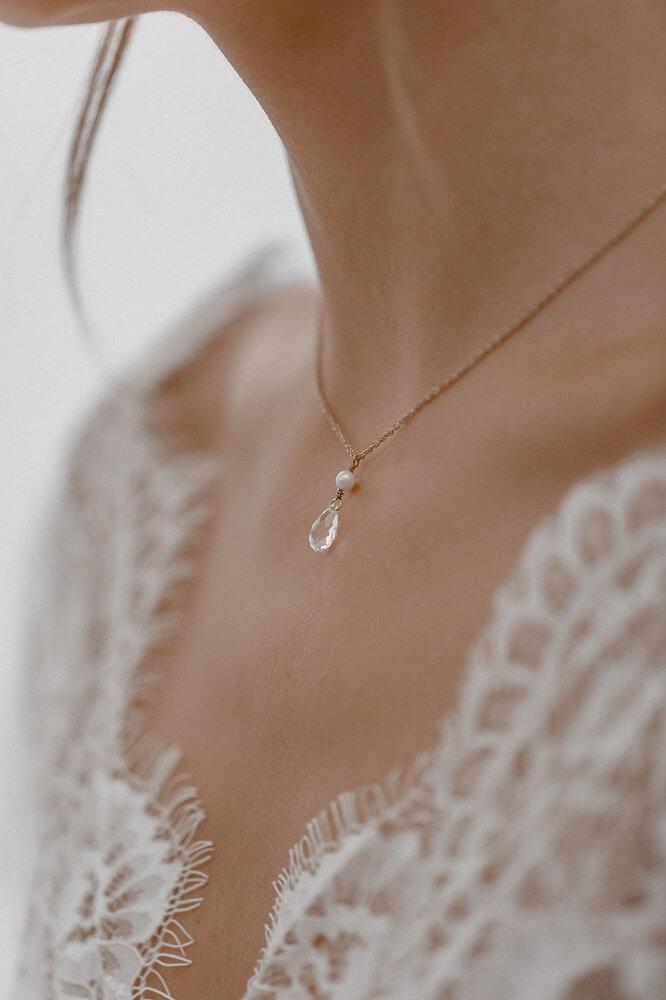 Halskette mit Süsswasserperle