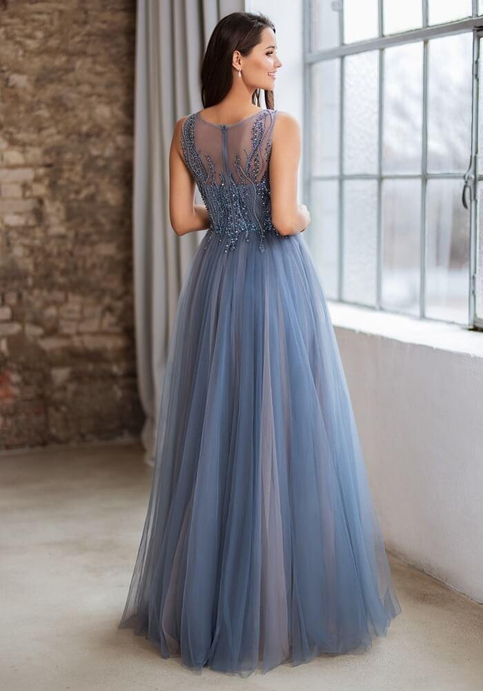blaues Abendkleid kaufen München