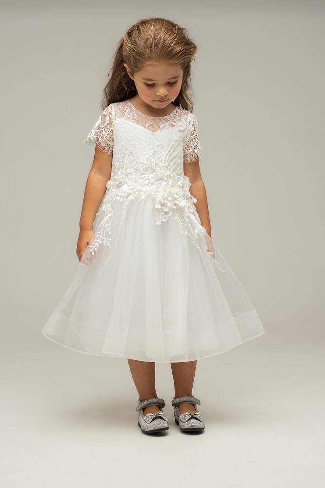 weißes Kleid München Kind